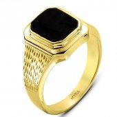 Myra Gold 14 Ayar Altın Erkek Yüzük