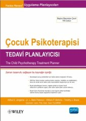 çocuk Psikoterapisi Tedavi Planlayıcısı The Child Psychotherapy Treatment Planner