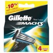 Gillette Mach3 Yedek Tıraş Bıçağı 4lü