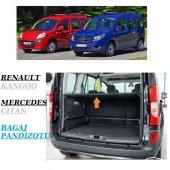 Renault Kango 2009 Merc. Cıtan Katlanır Bagaj Pandizotu