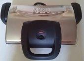 Aksu T34 Ken Grill Delux Çelik Tost Makinası