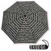 Notalı Cep Şemsiye Siyah