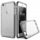 Verus İphone 6 Plus 6s Plus Crystal Bumper Kılıf Steel Silver