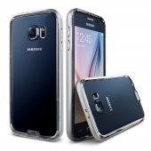 Verus Galaxy S6 Case Iron Bumper Kılıf Silver