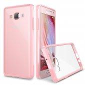 Verus Samsung Galaxy A7 Crystal Mixx Kılıf Baby Pink