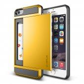 Verus İphone 6 Plus 6s Plus Damda Slide Kılıf Special Yellow