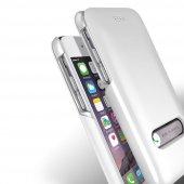 Verus İphone 6 6s 4.7 Slim Hard Slide Kılıf Pearl White