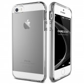 Verus İphone Se Crystal Bumper Series Kılıf Light Silver