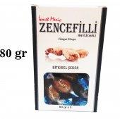 Zencefilli Havlıcanlı Bitkisel Şeker 80 Gr