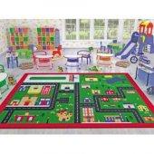 Confetti Town 200x290 Cm Anaokulu & Çocuk Odası Oyun Halı