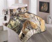 3d Çift Kişilik Nevresim Takımı Tiger