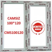 100x120 Pencere Camsız