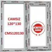 120x130 Pencere Camsız
