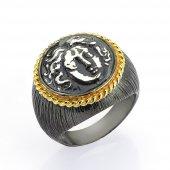 Gümüş Para Yüzük Romin 15