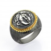 Gümüş Para Yüzük Romin 23