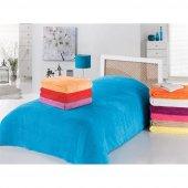 Evimemoda Çift Kişilik Soft Battaniye Mavi