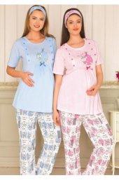 Bh2926 Baha 2li Lohusa Pijama Takımı