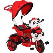 Babyhope 127 Little Panda Kırmızı Siyah 3 Tekerlekli Bisiklet