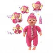 Konuşan Bebek Mimikli Kız Oyuncak Bebek