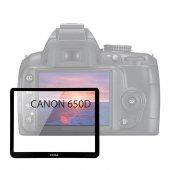 Canon 650d Lcd Ekran Koruyucu Cam Fotga