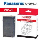 Panasonic Vbs2e Şarj Aleti Şarz Cihazı Sanger