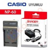 Casio Exilim Zoom Ex Z85pk Şarj Cihazı Şarj Aleti