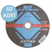 Kl Klt115 50 Adet 115x22.2 Mm Metal Kesme Diski Düz