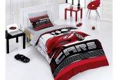 Belenay Sport Cars Kırmızı Arabalı Nevresim Takımı