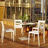 Siesta Icecca Bahçe Mutfak Balkon 4 Sandalyeli...