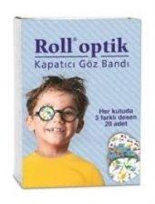 Göz Kapama Bandı 20 Adet Roll Optik Erkek Çocuk