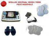 Wollex Wxp 2120 Çift Kanallı Tens Cihazı Adaptörlü Ped Hediyeli