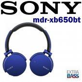 Sony Mdr Xb650bt Ekstra Bass Kablosuz Kulaklık Mavi