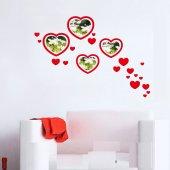 Tüyball Gpf 1006 Kırmızı Kalpli Fotoğraf Çerçevesi