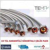 Tema 3*8 Çelik Batarya Flexi 70 Cm 10 Yıl Garantili Ve Sigortalı.