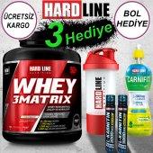 Hardline Whey 3matrix Protein Tozu 2300 Gr