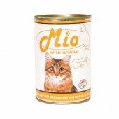 Mio Tavşan Etli Ve Av Hayvanlı Kedi Konservesi 415 Gr