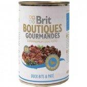 Brit Bountiques Gourmandes Ördekli Konserve Köpek Maması 400 Gr
