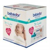 Bebedor İlk Günler Islak Pamuklu Mendil 12li Avantaj Paketi