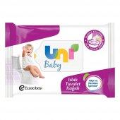 Uni Baby Islak Tuvalet Kağıdı 60 Adet