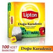 Lipton Doğu Karadeniz Bardak Poşet Çay 100 Adet 200 Gr