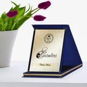 Kişiye Özel Yılın En Sevimlisi Lacivert Plaket Ödülü