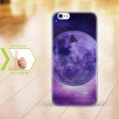 Kişiye Özel Iphone 6 6 Plus İnce Şeffaf Silikon Telefon Kapağı (Galaxy Temalı 5)