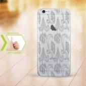 Kişiye Özel Iphone 6 6 Plus İnce Şeffaf Silikon Telefon Kapağı (Dantel Temalı 8)