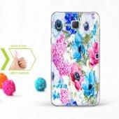 Kişiye Özel Samsung Galaxy J7 İnce Şeffaf Silikon Telefon Kapağı (Çiçek Temalı 13)