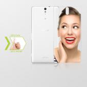 Kişiye Özel Sony Xperia C5 İnce Şeffaf Silikon Telefon Kapağı
