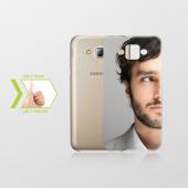 Kişiye Özel Samsung Galaxy J7 İnce Şeffaf Silikon Telefon Kapağı
