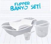 Flipper Bebek Banyo Küvet Seti 5 Parça Bebek Banyo Küveti