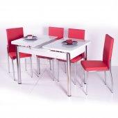Mutfak Sandalye Masa Takımı Mutfak Masasi 15 Renk
