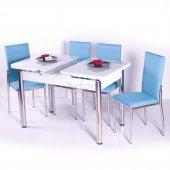 Mutfak Masa Sandalye Takımları Yemek Masasi Cam Açılır
