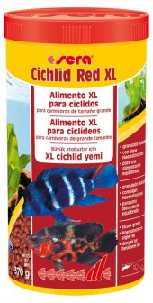 Sera Cichlid Red Xl Granül Yem 1000 Ml